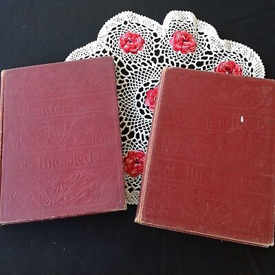 The Australian Book Of Wonder - Volumes 1 And 2 - Vintage