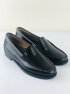 Ladies G H Bass Weejuns Lilian Loafer in Black Size UK 4 | EU 37 | US 6