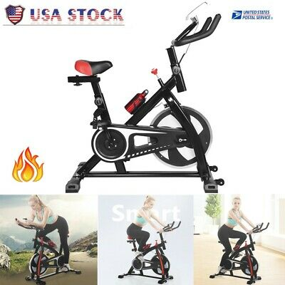 Pro Fitness Stationary Exercise Bike Cardio Indoor Cycling Bicycle Home & Gym G