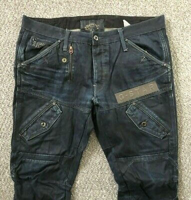 MENS G STAR RAW Gstar Scuba Elwood Loose Post Embro Jeans