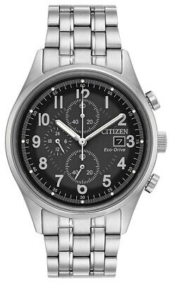 Citizen Eco-Drive Men's Chandler Chronograph Date Calendar 42mm Watch CA0620-59H