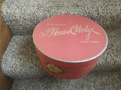 Vintage Howard Hodge Fifth Avenue New York Hat Box Only