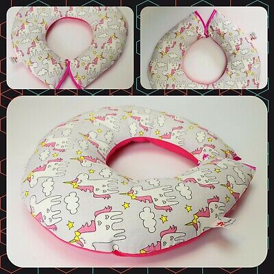 CLEARANCE WAS £9.99 Breast feeding SMALL PILLOW 40cm nursing pillow Baby support