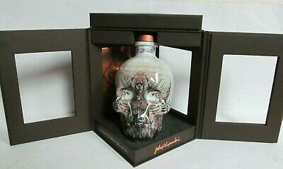 CRYSTAL HEAD VODKA SKULL BOTTLE Ltd Ed ARTIST SERIES JOHN ALEXANDER John Ackroyd