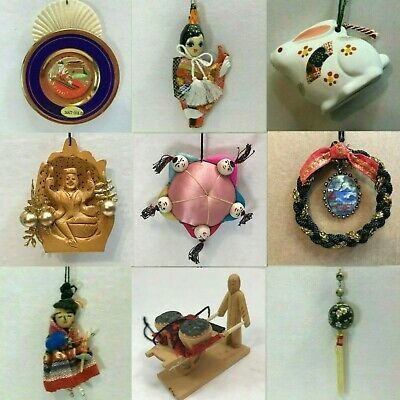 ASIAN ORNAMENTS CHOOSE Chinese New Year Ox Sheep Snake Rat Pig Horse Tiger MORE