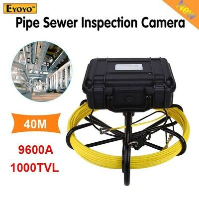 Eyoyo 9600A Under Water Drain Sewer Inspection Camera System 40M 9inch 1000TVL