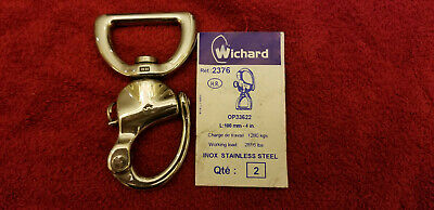 WICHARD Snap Shackle with Webbing Bail 100 MM - 4 in #2376