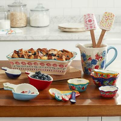 The Pioneer Woman Floral Medley 16-Piece Bakeware Combo Set