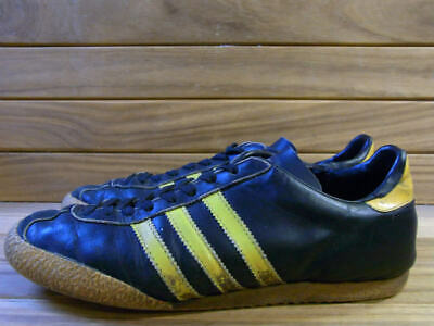 ADIDAS MADE IN France 70S Samba Black Yellow Sales Of