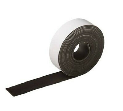 Premium Self Adhesive Flexible Magnetic Tape Craft Magnet Strip 25mm