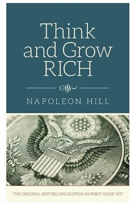 Think And Grow Rich Napoleon Hill Hardcover Motivation Self Improvement Books