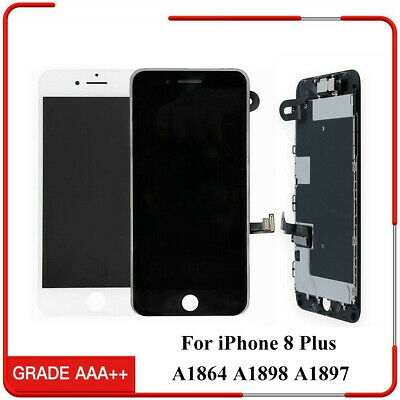 OEM iPhone 8 Plus Complete LCD Display Touch Digitizer Screen Replacement Camera