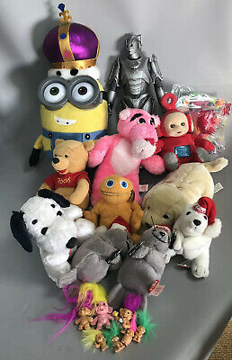 Job Lot of classic vintage and retro toys - Teletubbies, Zippy, Snoopy, Trolls..