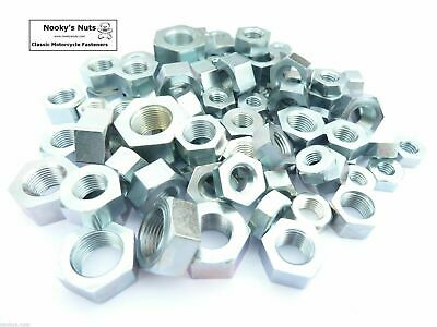 1/4 5/16 3/8 7/16 1/2 Cycle Thread Nuts Bright Zinc Plated (BZP) CEI BSCY BSC