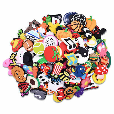 150 pcs Varied Shoe Wristbands Ornaments Buckles New Year Gift  For Kids
