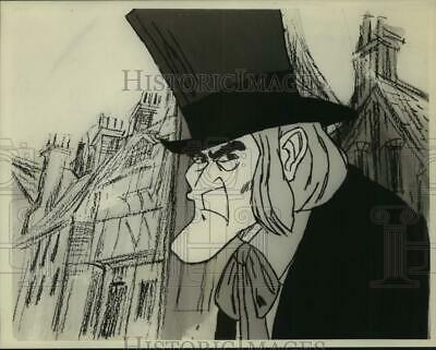 Press Photo A sketch of A Christmas Carol, animated feature special. - sap49319