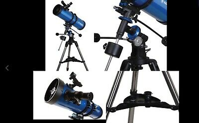 Meade Instruments  Polaris 130 Eq Reflector Telescope package