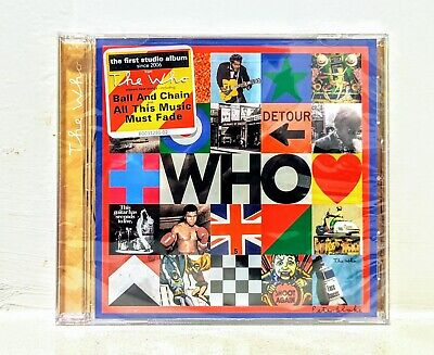 "The Who - ""Who"" ** BRAND NEW CD!! 2019 NEW RELEASE!!"