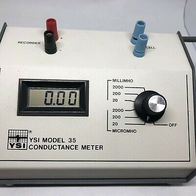 YSI Conductance Meter Model # 35