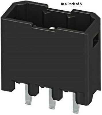 Phoenix 1778670 Contact 7 Way,Angle PCB Terminal Block Header (In a Pack of 5)