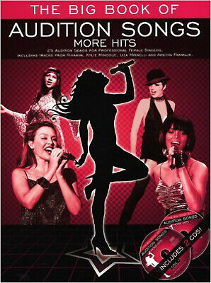 The Big Book Of Audition Songs: More Hits (Female Edition). Sheet Music, CD for