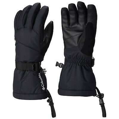 Columbia Women's Whirlibird Waterproof Insulated Gloves in Black 7018 Size M