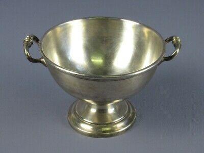 Antique Vase a Two Handles Soup Tureen Plated Silver Period First Xx Century