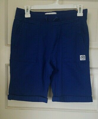 Nwt Abercrombie And Fitch Kids Boys Blue Pull On Shorts Sz 13/14