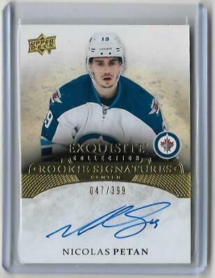 15/16 Exquisite Collection Rookie Signatures Nicolas Petan #Ers-Np 47/399 (B10)