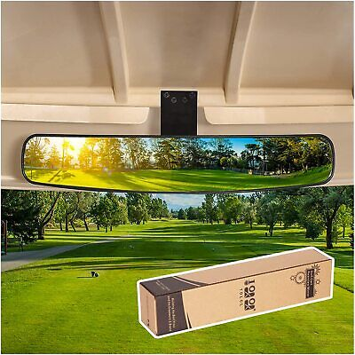 "16.5"" Extra Wide Panoramic Rear View Mirror Fit EZGO Club Car Yamaha Golf Car US"