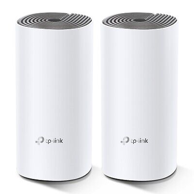 TP-Link Deco E4(2-pack) AC1200 Whole Home Mesh WiFi System up to 1167 Mbps