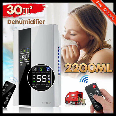 2.2L Dehumidifier for upto 3 bed houses with Humidistat & Air Purifier Eelectri