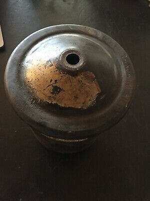 Willys MB WW2 Issued Oil filter canister and lid