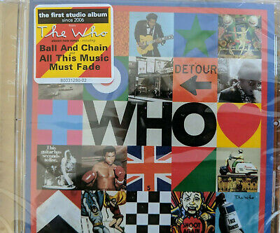 """WHO"" CD  BY THE WHO* December 2019 Release NEW FREE SHIPPING"