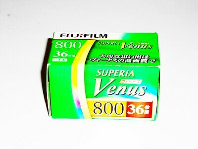 4 x FUJI SUPERIA VENUS 800 COLOR NEG--35mm/36 exps--expiry: 02/2021--LAST BATCH!