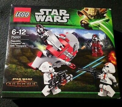 /& NEU ! Sith T LEGO® Star Wars™ Bauanleitung BAL 75001 Republic Troopers vs