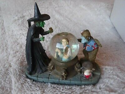 The Wizard Of Oz Collectible Bad Witch Snow Globe Pre Owned Very Good Shape