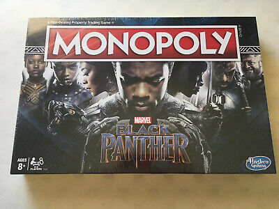 Brand New Sealed Marvel Black Panther Monopoly Board Game