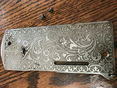 Singer 27 Sewing Machine part (1906) Face Plate             *