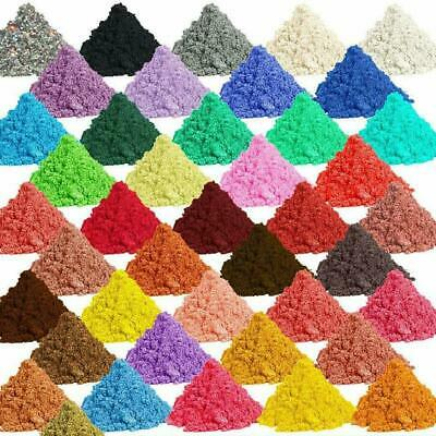69-Color Metallic Effect Natural Mica Pigment Powder Value Pack 5g/packet