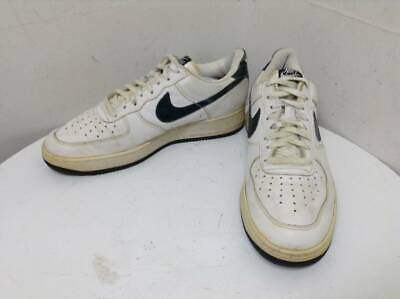 1996 NIKE AIR Force 1 Af1 Sc Ivory Snake Size 10.5 Dunk Co