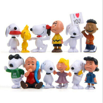 SEALED Set of 3 Peanuts Movie Toy McDonalds Figures Snoopy Lucy Charlie Brown