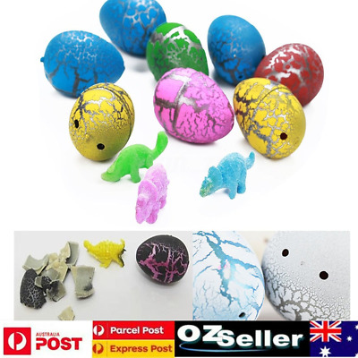 60X Dinosaur Eggs Magic Inflatable Hatching Dinosaur Add Water Growing Dino Eggs