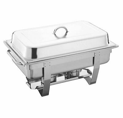13.5L Chafing Dish Single Stainless Steel - Buffet/Banquet Food Warmer