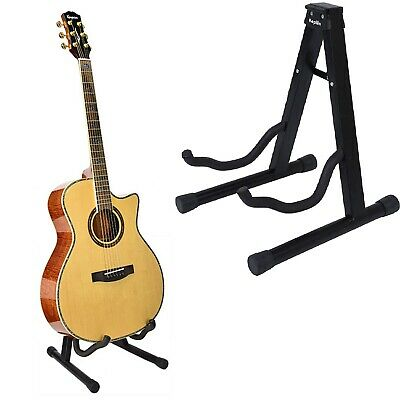 Universal Guitar Stand  A Frame Foldable Fits All Guitars Acoustic Electric Bass