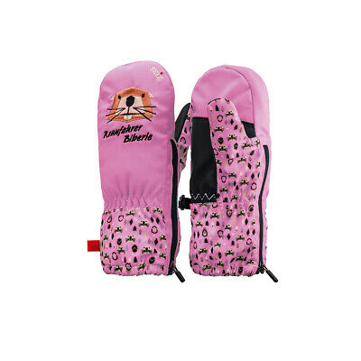 Seiz Gloves Biberle Children Winter Snow Mittens WGL00015 02 Pink