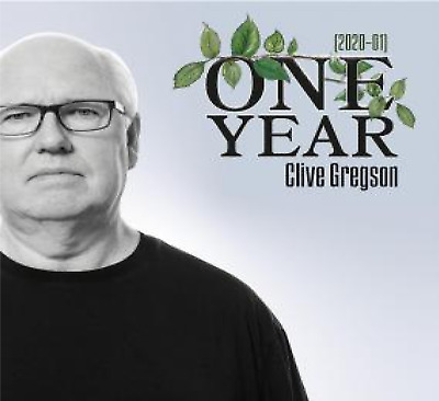 Clive Gregson One Year (2020 - 01) Cd Album New (17Thjan)