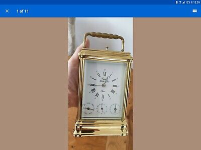 L'epee grande corniche day, Date, alarm Repeater Carriage Clock, stunning.