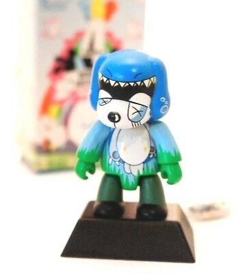 "Toy2r 3/"" Key Chain Qee MCA Evil Ape Greaser No Music Life Tower Records Kidrobot"