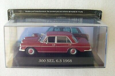 "24 DIE CAST /"" 300 SEL 6.3-1968 /"" MERCEDES COLLECTION 1//43"